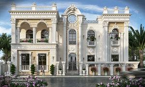 villa classic 3D model