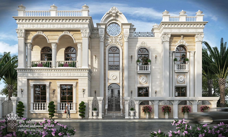 Exterior: Villa Classic 3D Model
