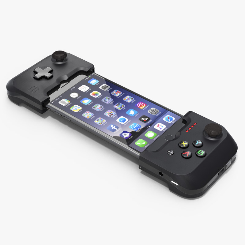gamevice controller iphone 8 3D model