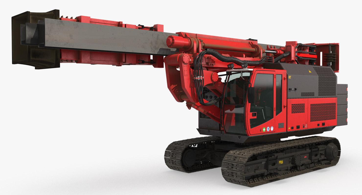 hydraulics pile driver generic model