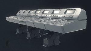 3D control panel