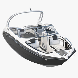 sportboat yamaha 242 limited 3D model