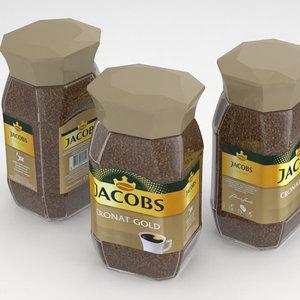 3D coffe jacobs cronat