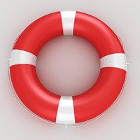 lifebuoy buoy life 3D model
