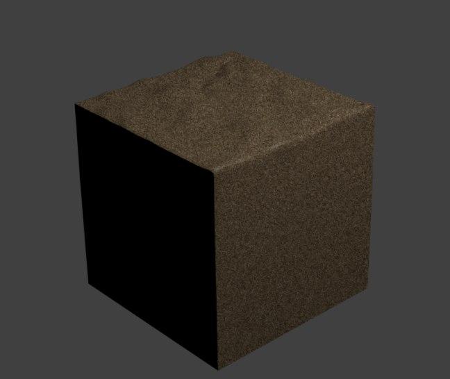cube blender 3D model
