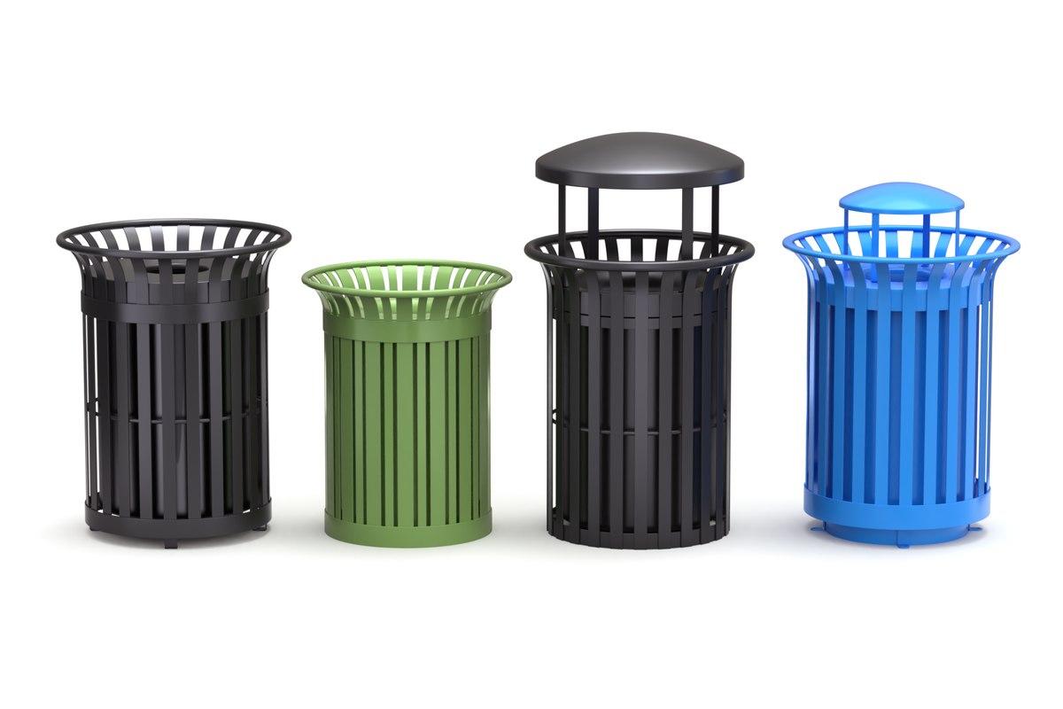 park trash 3D