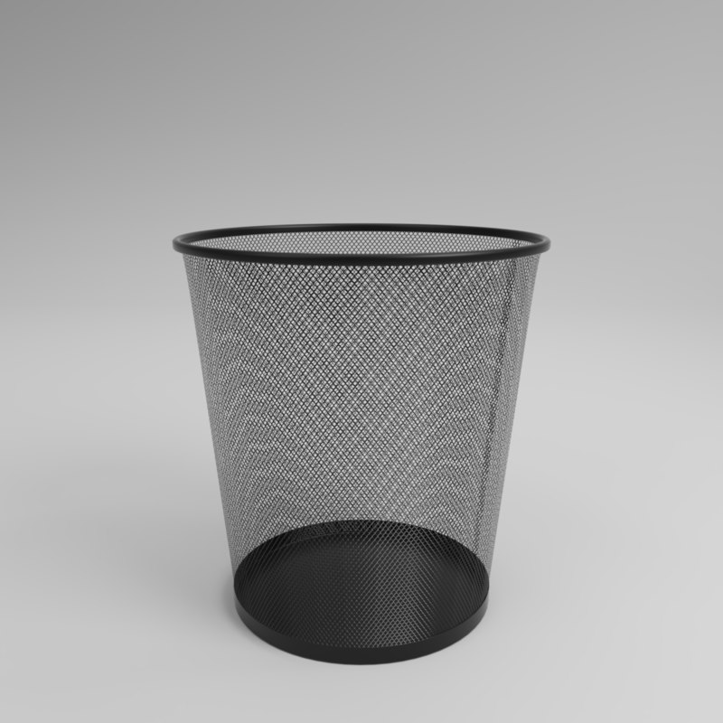 3D model interior mesh trash