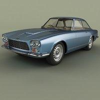 3D model gordon-keeble gk1 coupe