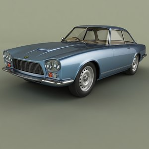 3D model gordon-keeble gk1 coupe