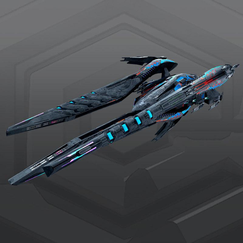 sf alien dreadnought a7 3D model