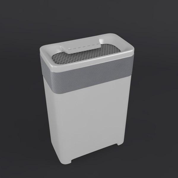 air clean 3D model