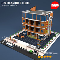 building motel 3D model