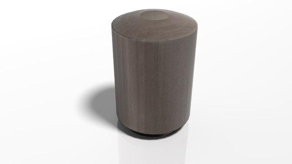 pbr mini chair 3D model