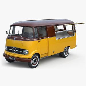 3D l319 food truck model