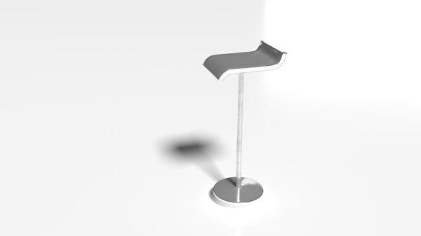 3D pbr mini chair