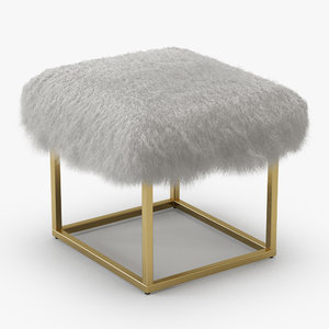 3D wool reno gold sheepskin