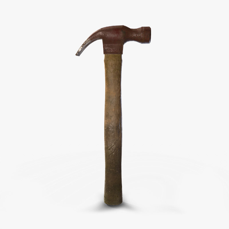 hammer tool 3D model