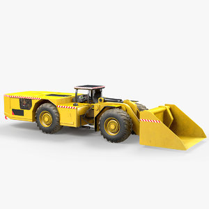load haul dump 3D