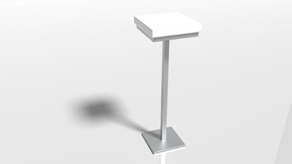 pbr mini chair 3D model