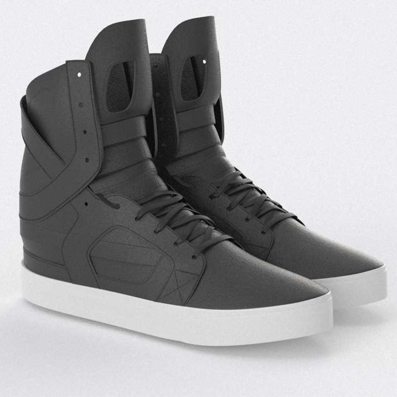 supra skytop 2 shoes 3D