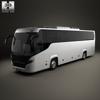 scania touring bus 3D