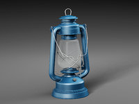 3D kerosene lamp