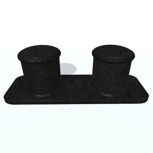 ship bollard 3D model