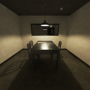 3D model interrogation room