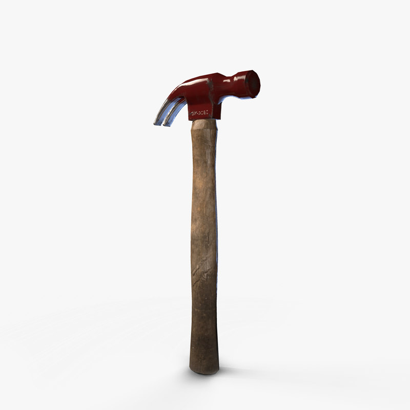 hammer tool 3D