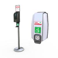 hand sanitizer dispensers 3D model