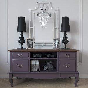 mirror lamp model