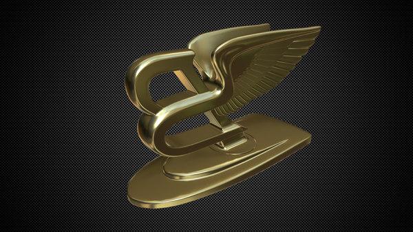 hood ornament 3D model