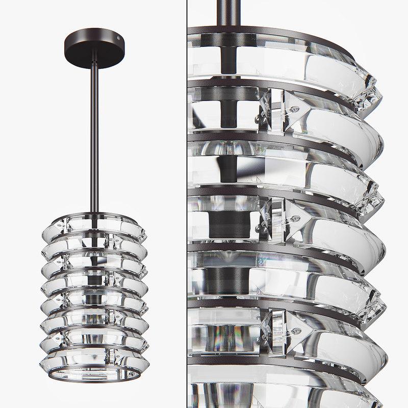 3D chandelier 746018 amerigo lightstar model