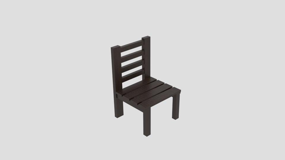 wood chair model