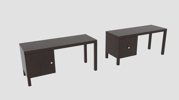 3D desk stand