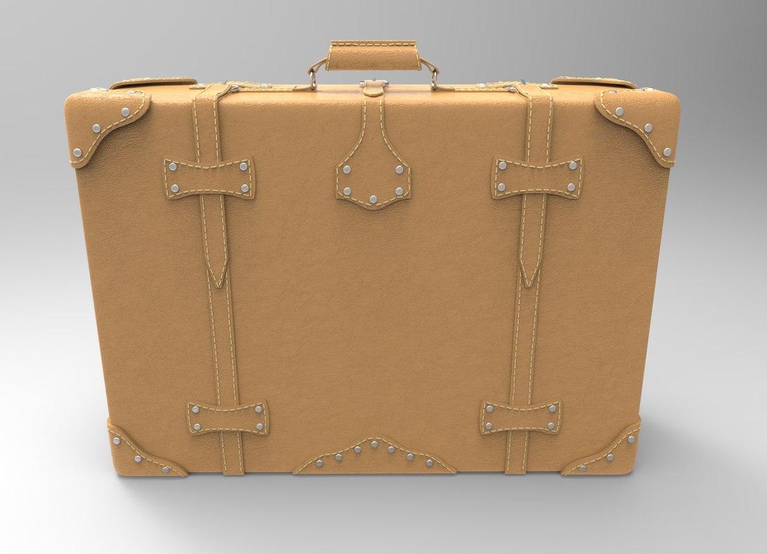 trend suitcase 3D model