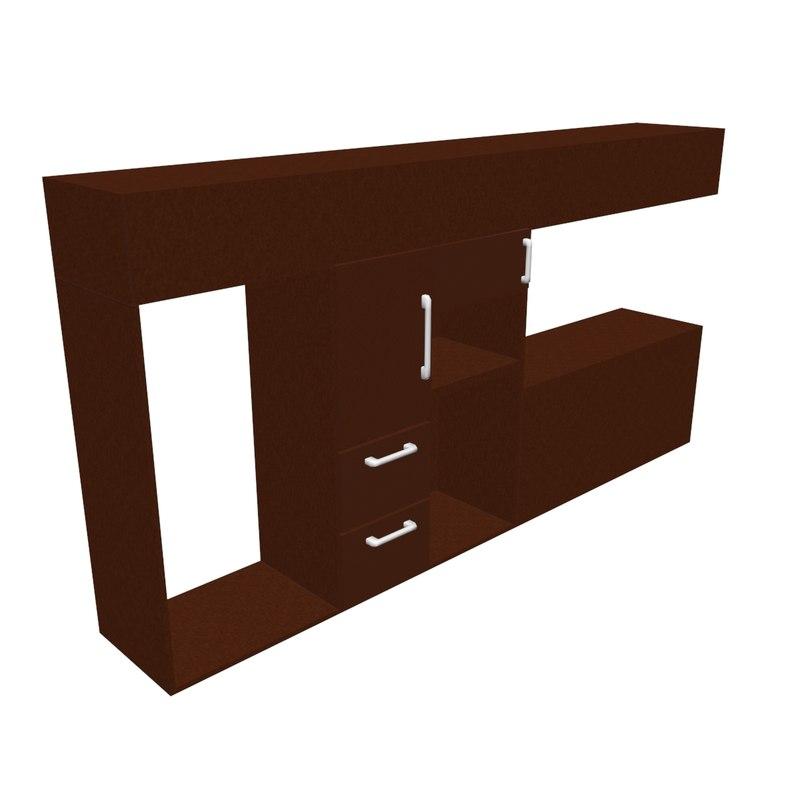 kitchen cabinet model