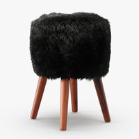 wool royal dream sheepskin 3D model