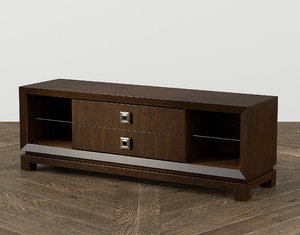 3D caudex entertainment console
