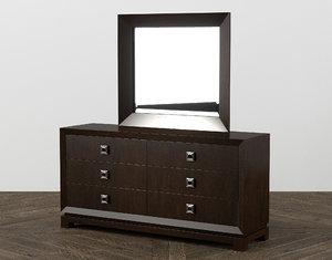 caudex dresser mirror bedroom furniture model