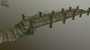 pier wood 3D
