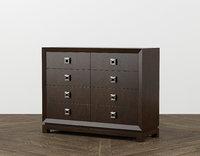 caudex bureau dressers furniture 3D model