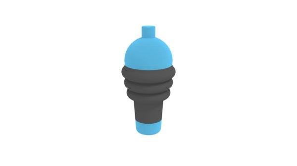 bottle sports 3D model