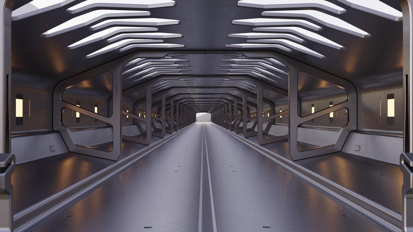3D design sci-fi environment