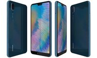 huawei p20 midnight blue 3D model