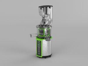 3D juicer juice