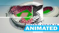Luzhniki Stadium HQ Animated