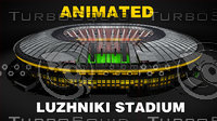 3D animation stadium model