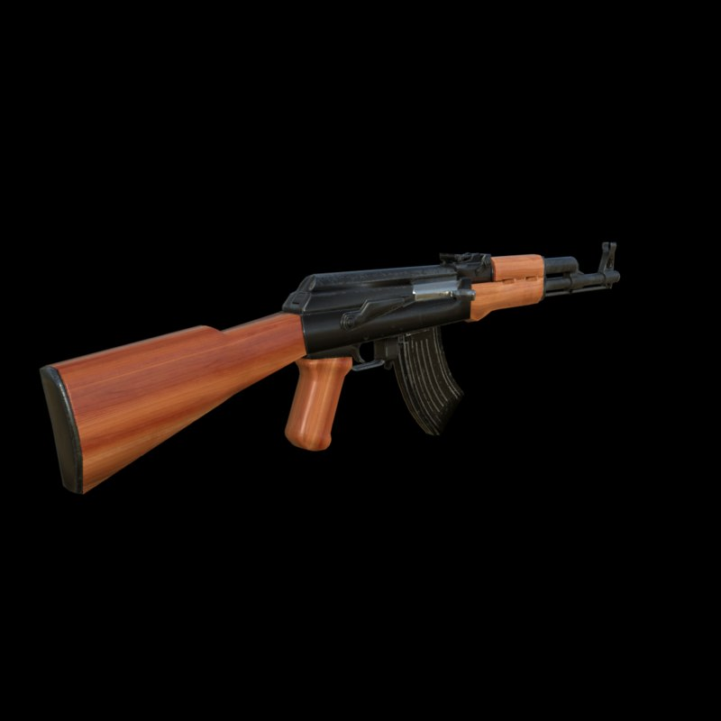 rifle resolution 3D model