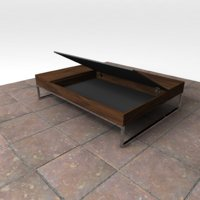 boconcept - chiva coffee table 3D model